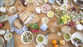 Lunchtafel Weerribben Zuivel en 't Groene Hart de Buurtboer