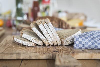 Bedrijfslunch met Heerlijk Stevig Brood van de Buurtboer
