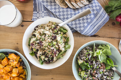 Bedrijfslunch met Verse salades De Buurtboer